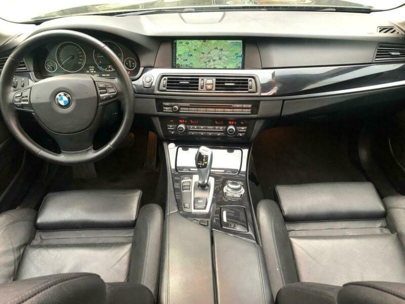 LHD LEFT HAND DRIVE BMW 520D+2013+LUXURY+AUTOMATIC+PAN-ROOF+SATNAV+XENON+CLEAN