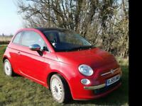 2009 Fiat 500 1.2 Lounge 3dr HATCHBACK Petrol Manual