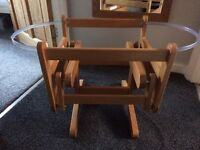 Gliding Moses Basket Stand