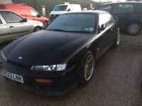 Shell sold. Nissan 200sx s14a wheels Do-Luck Double Six
