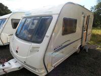 Sterling Eccles Diamond 2005 2 Berth Lightweight End Washroom Touring Caravan