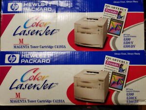 2 Packs -HP GENUINE C4193A MAGENTA TONER 93A for LJ 4500, 4550
