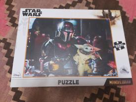 Mandalorian Baby Yoda Puzzle, Brand new