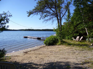 Lake Front Near Kenora Drive Up to Door on a Quite Private Lake