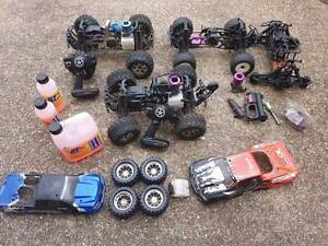 HPI Savage x BUNDLE!!! 2 Complete cars and parts cars! LRP ENGINE Ryde Ryde Area Preview
