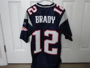 Tom Brady Reebok Authentic Jersey and Cap