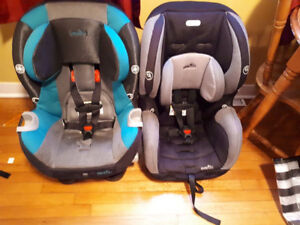 2 Evenflo Car Seats 65lb. weight limit