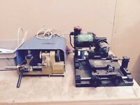 Two key cutting machines and keys fancy a new trade this is it