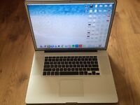 MACBOOK PRO 17-INCH LAPTOP, 8GB, 2.5GHz,QUAD i7