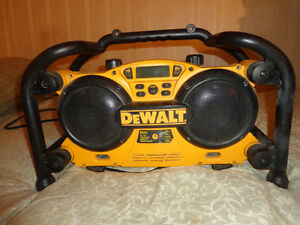 Bosche and Dewalt Jobsite Radios