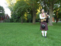 Bagpipes / solo bagpiper for all occasions // Cornemuse