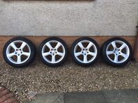Genuine Mercedes Alloy Wheels and Tyres