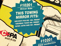 Custom Towing Mirrors Chevy 1991 and newer