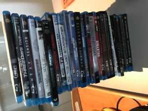 Blu-Ray's - Entire stack for $50.