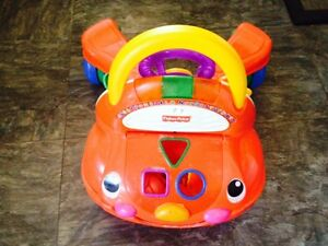 Fisher Price ABC & Numbers Car