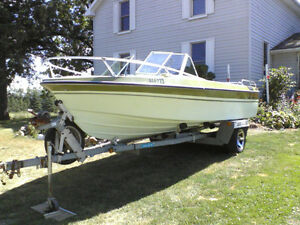 18 ft. Larson inboard and trailer