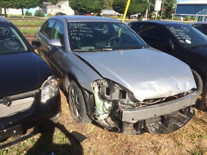 2007 Chevy Impala parts only
