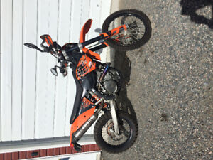 2008 KTM 530 EXC-R with new motor