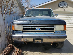 For parts: 1991 Ford F150 Custom 4x4