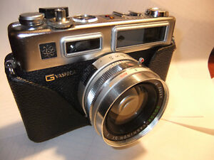 yashica electro GSN 35 film rangefinder camera Great for beginne