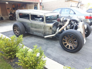 1930 model A diesel rat rod cummins