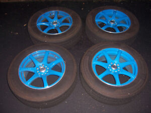 225/65R17 Tires with RTX INK - 17 Inch Rims (Rav4)