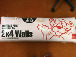 Owens Corning Pink Fiberglas Insulation for 2x4 Wallls Brand New