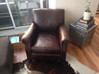 Leather Arm Chair from Urban Barn