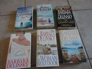 LARGE LOT OF BOOKS BY BARBARA DELINSKY London Ontario image 2