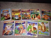 Land Before Time DVD movies!!
