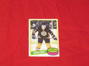 Non-mint hockey rookie cards (Bourque, Kurri) & 1970s stars*
