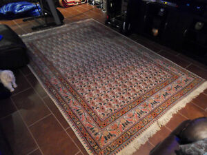 Kashan Persian Rug from 1960's