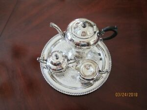 Rogers Silverware Tea Set
