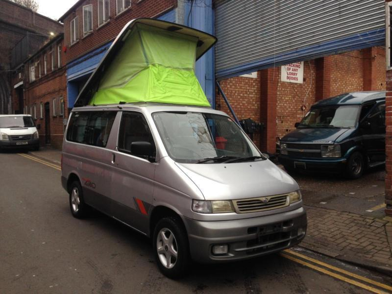 mazda bongo friendee 2 5 turbo diesel 4wd 4x4 auto free. Black Bedroom Furniture Sets. Home Design Ideas