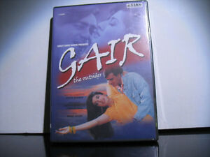 New sealed Gair The Outsider Indian Hindi DVD Movie