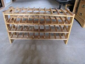 Birch wood Wine rack