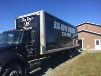BIG BOYS MOVERS ..YOUR PROFESSIONAL MOVERS!!...738-6653