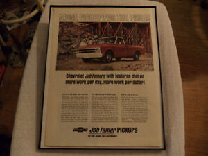 OLD CLASSIC CAR ford & chev PICKUP ADS Windsor Region Ontario image 6