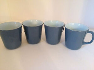 4 Corelle Slate Mugs $16.00