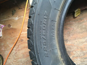 Winter tires for sale 225 60 17