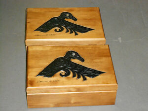 Hand Crafted Wood Box