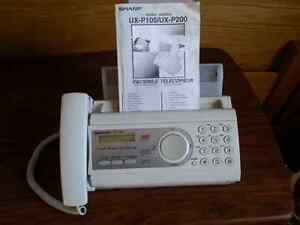 almost new fax / phone