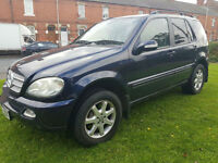 Mercedes-Benz ML270 2.7TD auto CDI PX Swap Anything considered