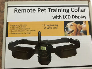 Brand New Dog Training collar