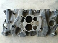 Factory 4 barrel gm intake manifold