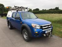 FORD RANGER XL 4X4 DCB TDCI DOUBLE CAB PICK UP WINCH Blue Manual Diesel, 2011