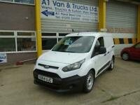 2014 64 FORD TRANSIT CONNECT 200 1.6TDCi L1 PANEL VAN IN WHITE