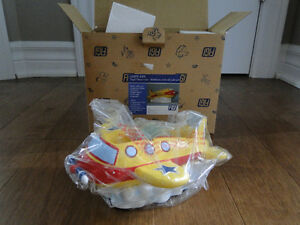 NEW FIGI RESIN TAPE DISPENSER AIRPLANE HEAVY DUTY