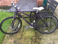 """Victoria pendleton brooke Ladies hybrid bike 16"""" Frame 24 gears. Recently serviced and all good."""