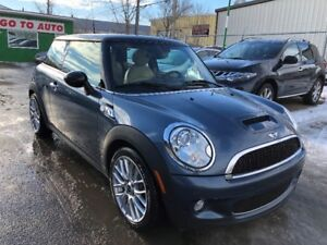 2009 Mini Cooper S Coupe - Leather, sunroof, Low Kms!!